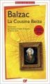 Couverture La cousine Bette Editions Flammarion (GF) 2015