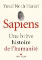 Couverture Sapiens : Une brève histoire de l'humanité Editions Albin Michel 2015