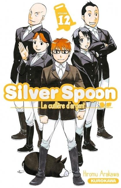 Couverture Silver spoon : La cuillère d'argent, tome 12
