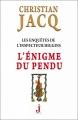 Couverture Les enquêtes de l'inspecteur Higgins, tome 07 : L'énigme du pendu Editions J 2012