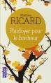 Couverture Plaidoyer pour le bonheur Editions Pocket (Evolution) 2014
