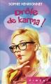 Couverture Drôle de Karma Editions France Loisirs (Piment) 2015