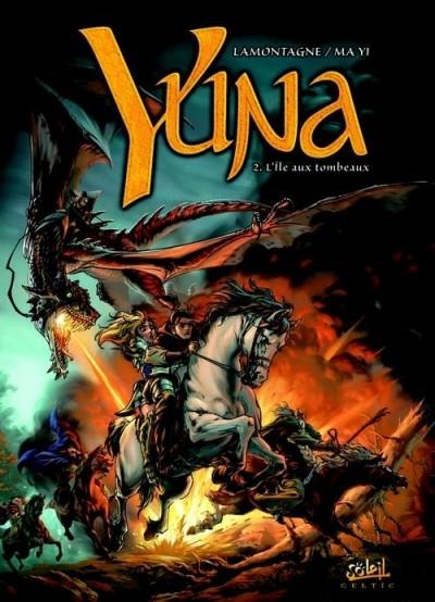 Couverture Yuna, tome 2 : L'île aux tombeaux
