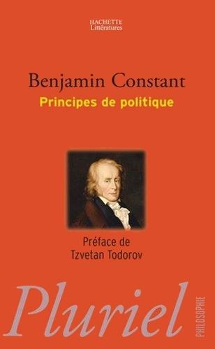 Couverture Principes de politique