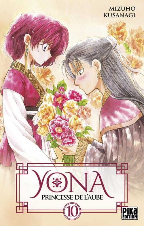 Couverture Yona, princesse de l'aube, tome 10