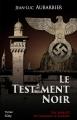 Couverture Le testament noir Editions City (Thriller) 2016