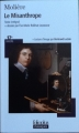 Couverture Le misanthrope / Le misanthrope ou l'atrabilaire amoureux Editions Folio  (Plus classiques) 2011