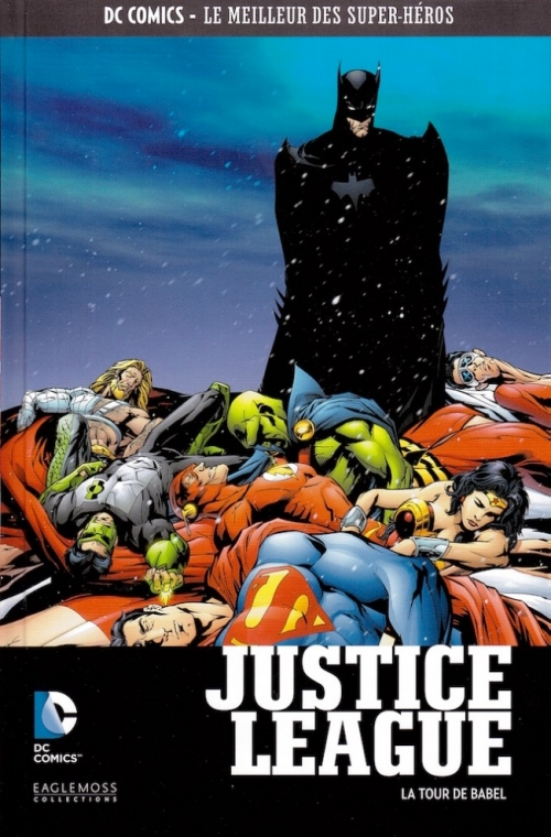 Couverture JLA : Tour de Babel / Justice League : Tour de Babel