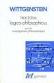 Couverture Tractatus logico-philosophicus Editions Gallimard  (Tel) 1961
