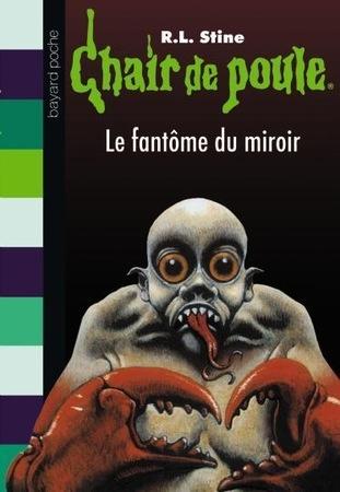 Couverture Le fantôme du miroir