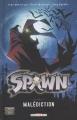 Couverture Spawn, tome 02 : Malédiction Editions Delcourt (Contrebande) 2007