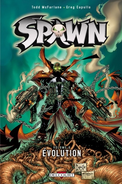 Couverture Spawn, tome 06 : Evolution