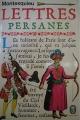 Couverture Lettres persanes Editions Le Livre de Poche 1972