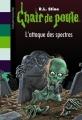 Couverture L'attaque des spectres Editions Bayard (Poche) 2010
