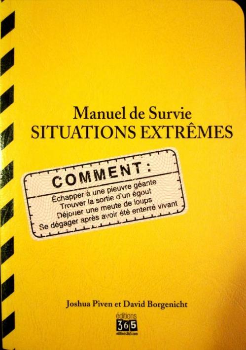 Couverture Manuel de Survie : Situations extrêmes