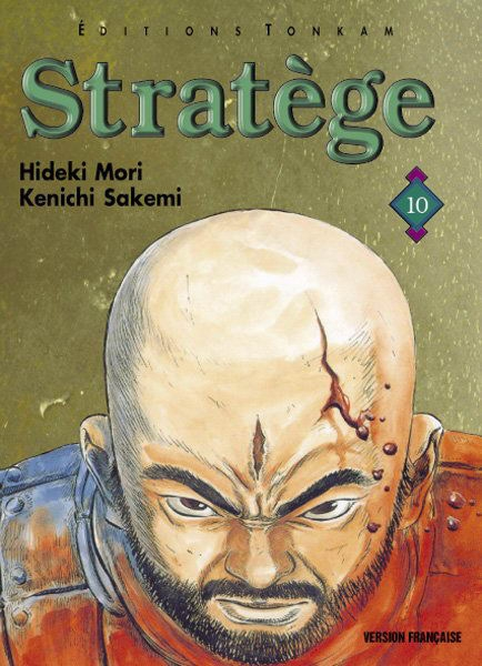Couverture Stratège, tome 10