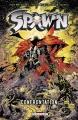 Couverture Spawn, tome 09 : Confrontation Editions Delcourt (Contrebande) 2011