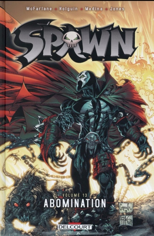 Couverture Spawn, tome 13 : Abomination