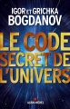 Couverture Le code secret de l'univers Editions Albin Michel 2015