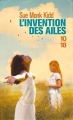 Couverture L'Invention des ailes Editions 10/18 2016