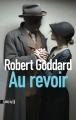 Couverture Au revoir Editions Sonatine 2016
