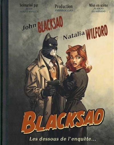 Couverture Blacksad, Les dessous de l'enquête