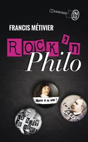 Couverture Rock'n philo, tome 1