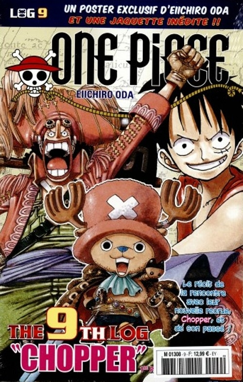 Couverture One Piece, Log, tome 09