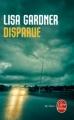 Couverture Disparue Editions Le Livre de Poche (Thriller) 2010