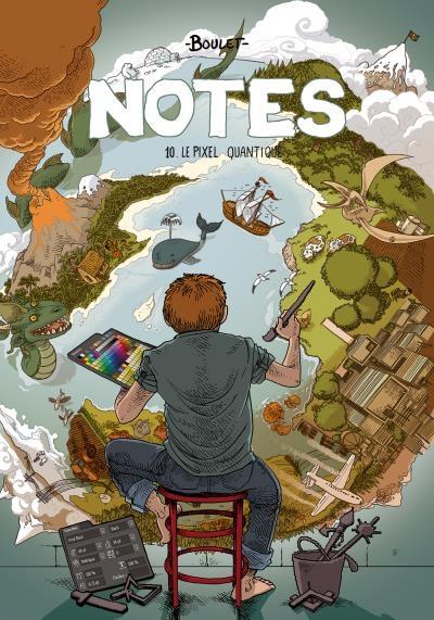 Couverture Notes, tome 10 : Le pixel quantique