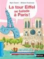 Couverture La tour Eiffel se balade à Paris ! Editions Nathan 2016