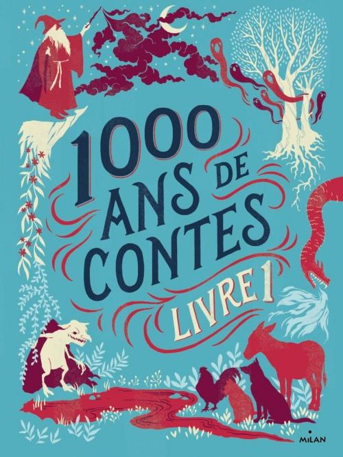 Couverture 1000 ans de contes, tome 1