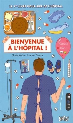 Couverture Bienvenue à l'hôpital !
