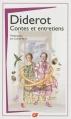 Couverture Contes et Entretiens Editions Flammarion (GF) 2013