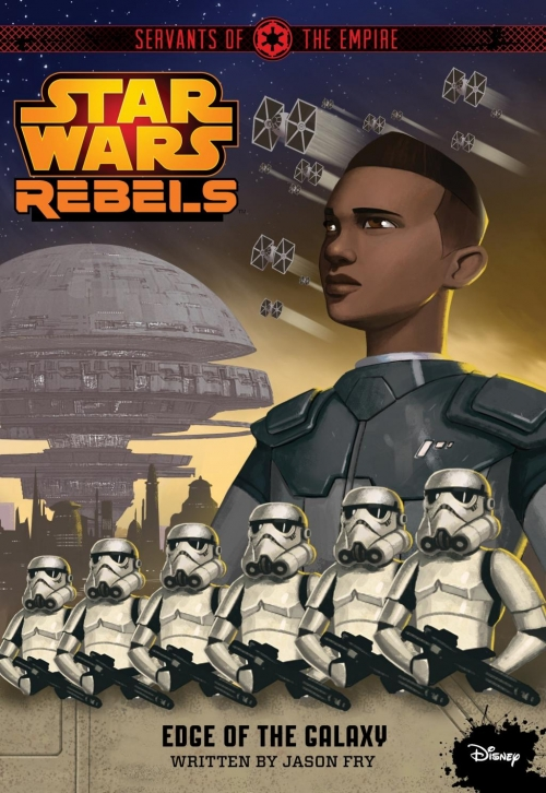Couverture Star Wars : Rebels, tome 4 : Au service de l'Empire