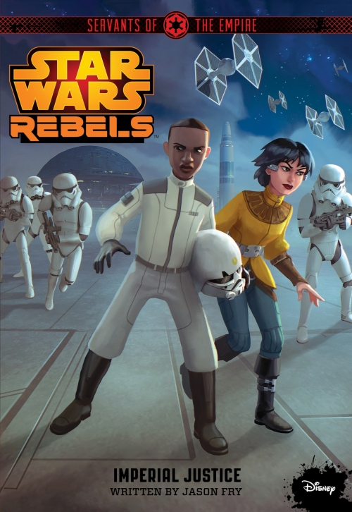 Couverture Star Wars : Rebels, tome 8 : Justice impériale