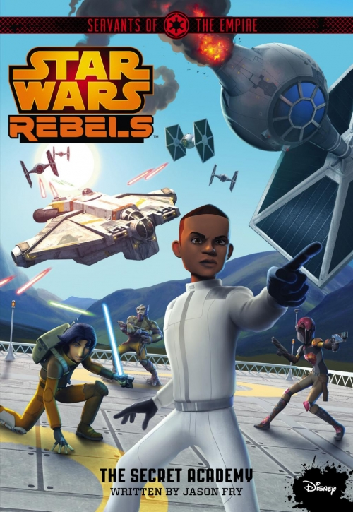 Couverture Star Wars : Rebels, tome 9 : L'Académie secrète