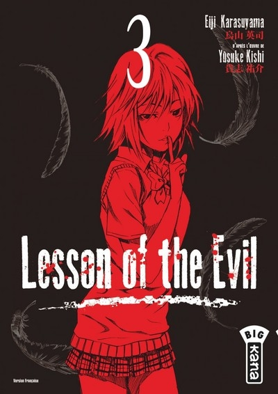 Couverture Lesson of the evil, tome 3