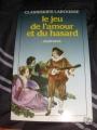 Couverture Le jeu de l'amour et du hasard Editions Larousse (Classiques) 1988