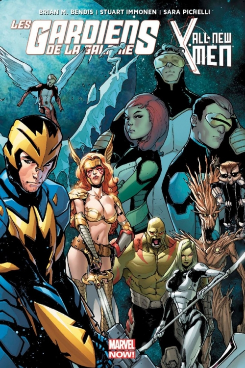 Couverture Les gardiens de la galaxie & All-New X-Men (Marvel Now) : Le procès de Jean Grey