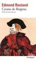 Couverture Cyrano de Bergerac Editions Folio  (Classique) 2015