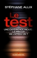 Couverture Le test Editions Albin Michel 2015