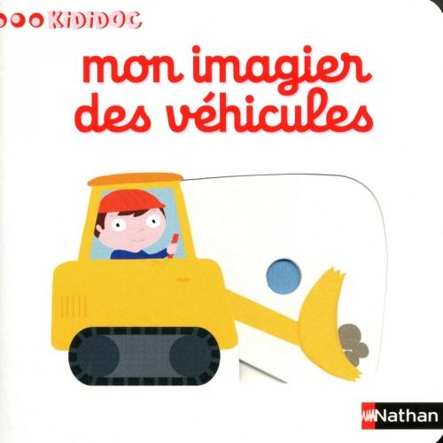 Couverture Mon imagier des véhicules
