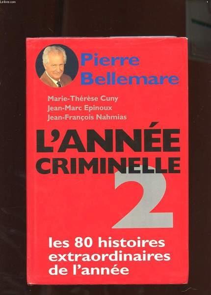 Couverture L'année criminelle, tome 2