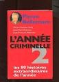 Couverture L'année criminelle, tome 2 Editions France Loisirs 1994