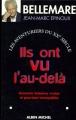 Couverture Ils ont vu l'au-delà Editions Albin Michel 1997