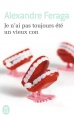 Couverture Je n'ai pas toujours été un vieux con Editions J'ai Lu 2015