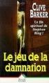 Couverture Le Jeu de la damnation Editions Succès du livre 1996