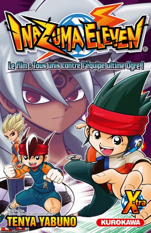 Couverture Inazuma eleven X-tra