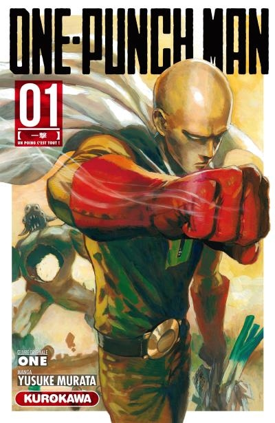 Couverture One-Punch Man, tome 1